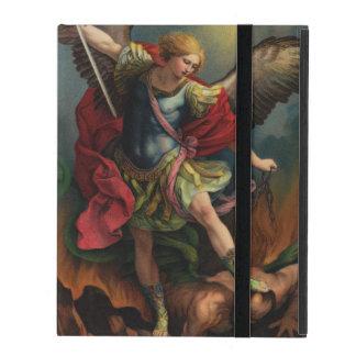 Saint Michael the Archangel iPad Case