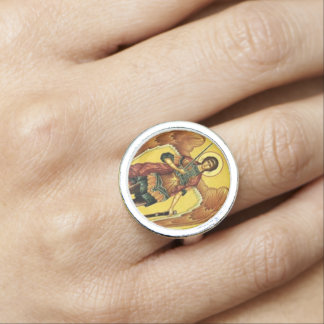 Saint Michael the Archangel Ring