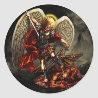 Saint Michael the Archangel Sticker