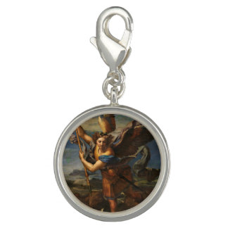 Saint Michael Vanquishing Satan Photo Charm