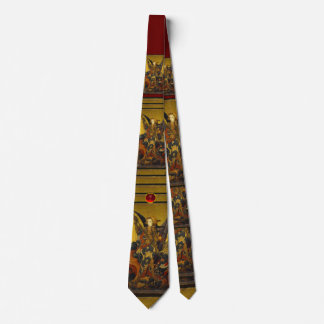 Saint Michael Vanquishing the Devil , ruby Tie