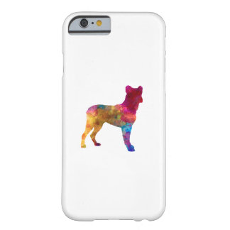 Saint Miguel Cattle Dog in watercolor Barely There iPhone 6 Case