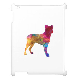 Saint Miguel Cattle Dog in watercolor Coque Pour iPad