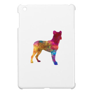 Saint Miguel Cattle Dog in watercolor iPad Mini Cover