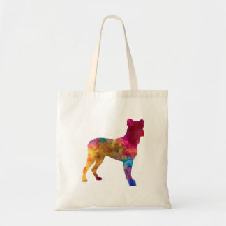 Saint Miguel Cattle Dog in watercolor Tote Bag