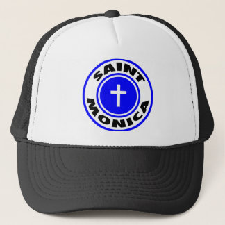 Saint Monica Trucker Hat