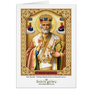 Saint Nicholas - Greeting card
