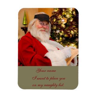 Saint Nicholas Naughty list magnet