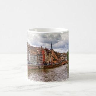 Saint-Nicolas dock in Strasbourg, France Coffee Mug