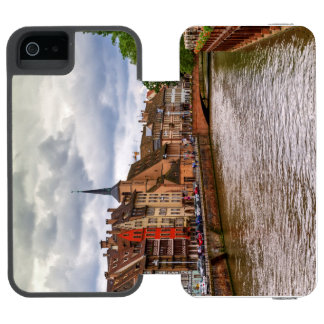 Saint-Nicolas dock in Strasbourg, France Incipio Watson™ iPhone 5 Wallet Case