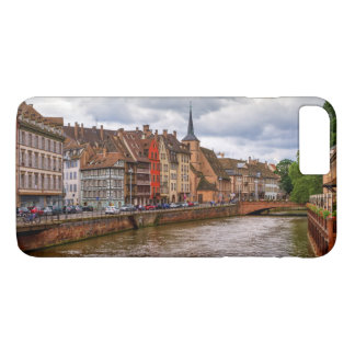 Saint-Nicolas dock in Strasbourg, France iPhone 8 Plus/7 Plus Case