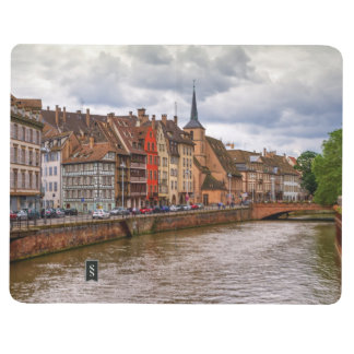 Saint-Nicolas dock in Strasbourg, France Journal