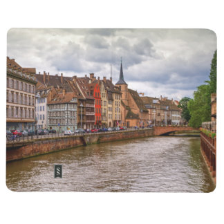 Saint-Nicolas dock in Strasbourg, France Journals