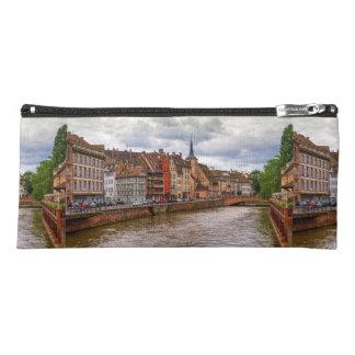 Saint-Nicolas dock in Strasbourg, France Pencil Case