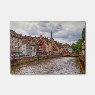 Saint-Nicolas dock in Strasbourg, France Post-it Notes