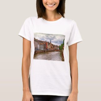 Saint-Nicolas dock in Strasbourg, France T-Shirt
