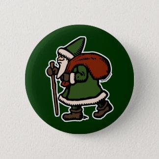 Saint Nicolas (Green Robes) 2 Inch Round Button
