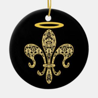 Saint NOLA Ceramic Ornament