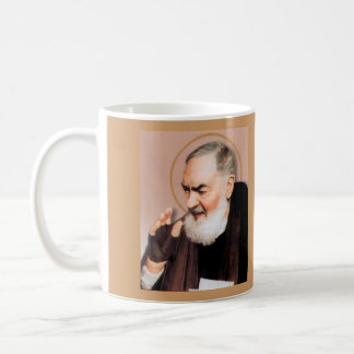 Saint Padre Pio, Catholic Mystic Coffee Mug