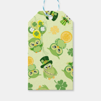 Saint Partrick's Day Shamrocks Gift Tags