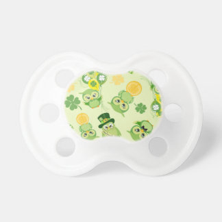 Saint Partrick's Day Shamrocks Pacifier