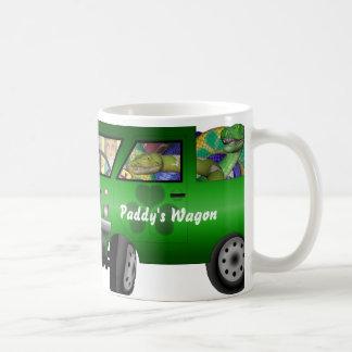 Saint Patrick Drives Coffee Mug