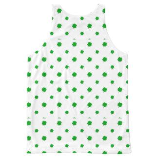Saint Patrick Motif Pattern All-Over-Print Tank Top