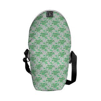 Saint Patrick Motif Pattern Courier Bags