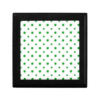 Saint Patrick Motif Pattern Gift Box