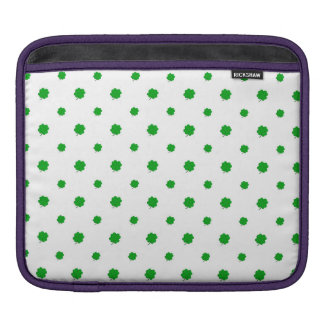 Saint Patrick Motif Pattern iPad Sleeve