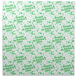 Saint Patrick Motif Pattern Napkin
