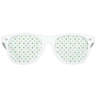 Saint Patrick Motif Pattern Retro Sunglasses