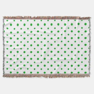 Saint Patrick Motif Pattern Throw Blanket