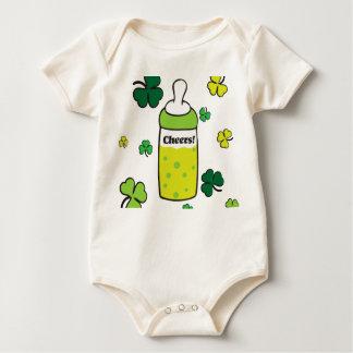Saint Patrick`s Day Cheers! Baby Bodysuit