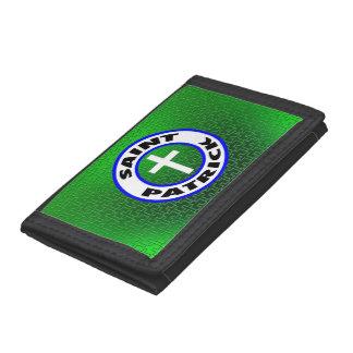 Saint Patrick Tri-fold Wallet