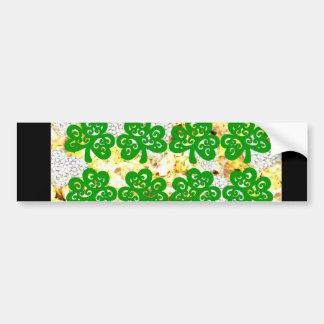 SAINT PATRICKS DAY BUMPER STICKER