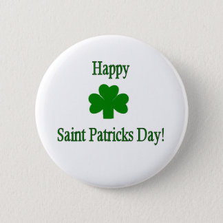 Saint Patricks Day Button