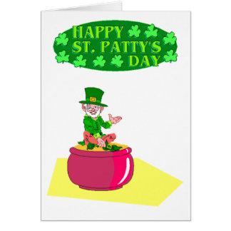 Saint Patrick's day - Card