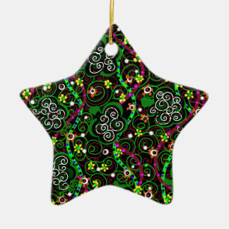 Saint Patrick's Day Ceramic Ornament
