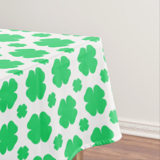 Saint Patrick's Day Clover Patterned Tablecloth