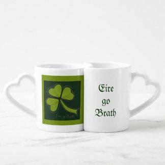 Saint Patrick's Day collage series # 11 Coffee Mug Set
