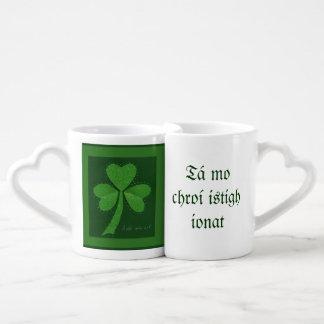 Saint Patrick's Day collage series # 13 Coffee Mug Set