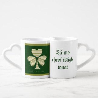 Saint Patrick's day collage series # 14 Coffee Mug Set