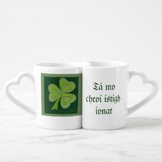 Saint Patrick's day collage series # 16 Coffee Mug Set
