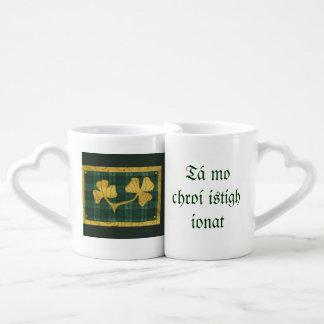 Saint Patrick's Day collage series # 19 Coffee Mug Set