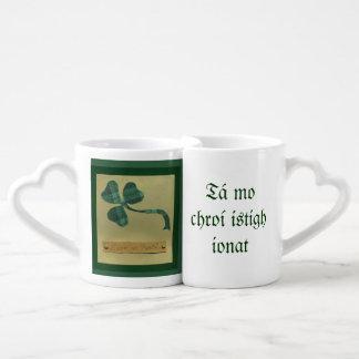 Saint Patrick's Day collage series #3 Coffee Mug Set
