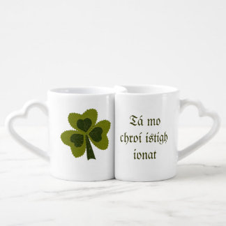 Saint Patrick's Day collage series # 8 Coffee Mug Set