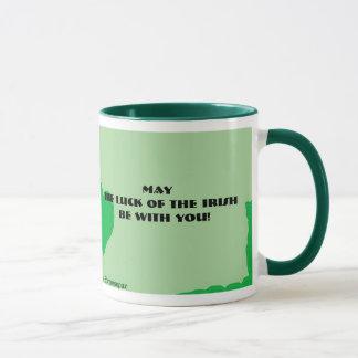 Saint Patrick's Day Fedora Bear Mug