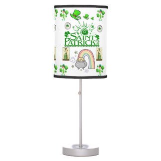 Saint Patrick's Day Lamp