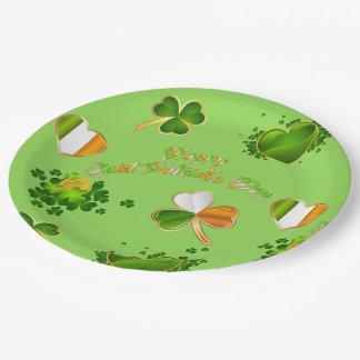 Saint Patrick's Day Paper Plate